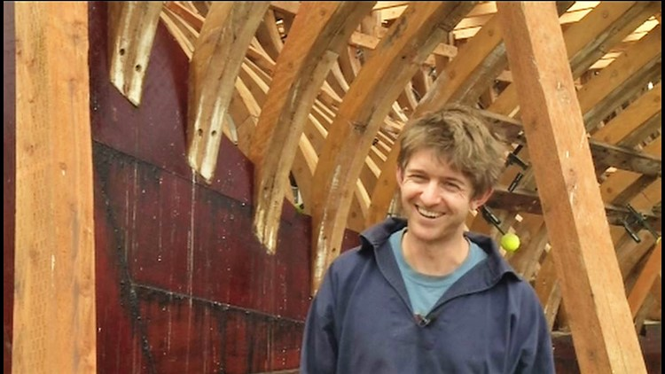 Saving a historic sailing yacht on the Olympic Peninsula