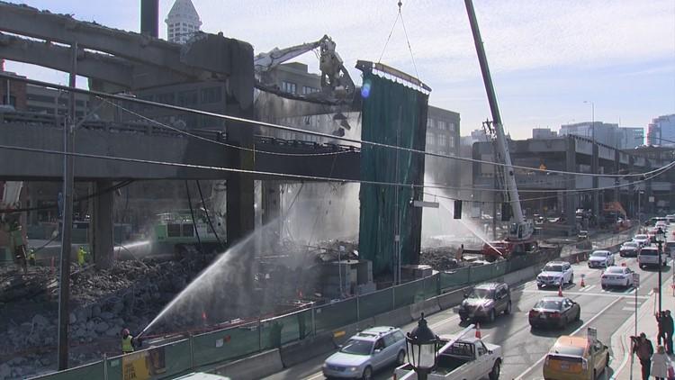 Viaduct Demolition Seattle