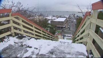 Port Angeles braces for another blast of January snow