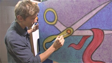 Seattle artist with huge YouTube following is a millennial Bob Ross
