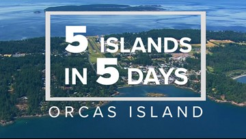 5 Islands in 5 Days: Orcas Island