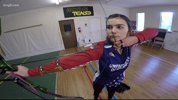 Monroe 16-year-old is one of the top archers in the nation