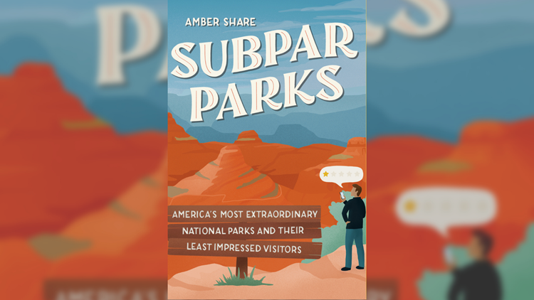 Nature receives 1-star reviews in hilarious book