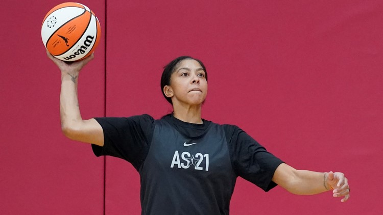 Candace Parker to be first woman on cover of NBA 2K game