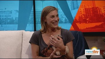 TV star Katee Sackhoff is advocating for animals at this weekend's Tulip Ride