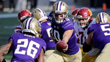 Ahmed leads No. 17 Washington past No. 21 USC 28-14