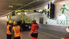 Northbound lanes of Seattle tunnel closed Friday night for maintenance