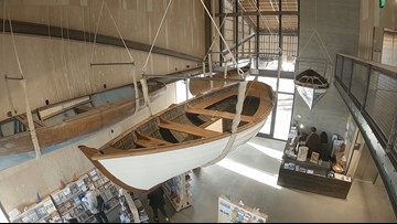 The Center for Wooden Boats gets a new home in South Lake Union - KING 5 Evening