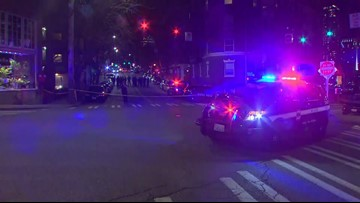Scene of officer-involved shooting in Seattle