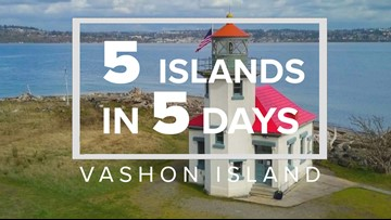 5 Islands in 5 Days: Vashon Island