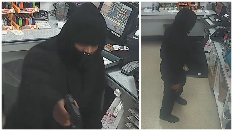Pierce County armed robbery suspect