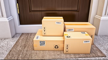 Rise in online shopping means bigger 'cardboard footprint'