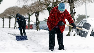 Chance for significant lowland snow in Seattle fading