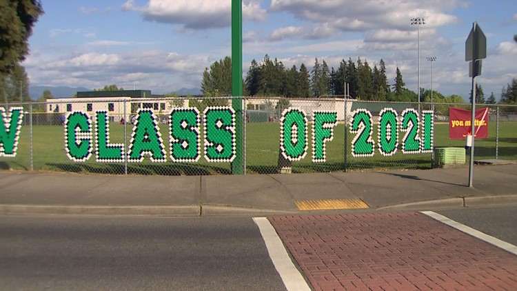 'Pretty bummed': Kent high school students petition for in-person graduation over drive-thru ceremony