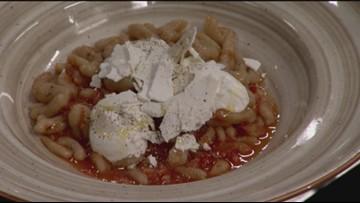Learn to cook Italian Trattoria Andare Kitchen + Bar's Signature Cavatelli with Tomato Sofrito - New Day Northwest