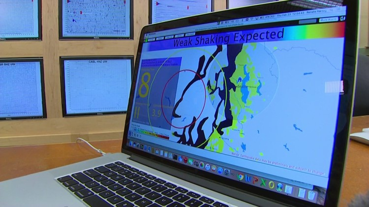 ShakeAlert early earthquake warning system goes live in Washington Tuesday