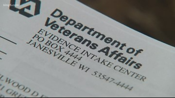 Documents with veterans' personal info mailed to Tacoma man