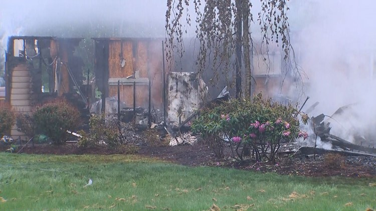 3 recovering after fire destroys Arlington home