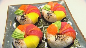 Tacoma's Gari of Sushi makes Sushi into art