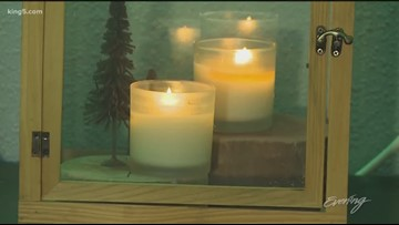 Truelux offers candles that provide moisturizing lotion - KING 5 Evening