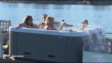 New hot tub boat spotted in Spanaway - KING 5 Evening