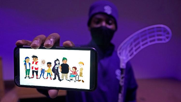 Before stepping on ice, Kraken teach hockey to Seattle kids