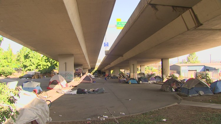 Washington state playing the 'long game' on highway homeless encampments