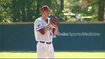 Mariners pick Elon pitcher Kirby with 1st pick in MLB Draft