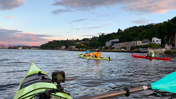 Sunset Kayaking 1