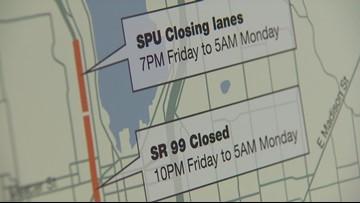 Weekend closures briefing