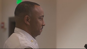 Tory Green sworn in as new Tacoma fire chief