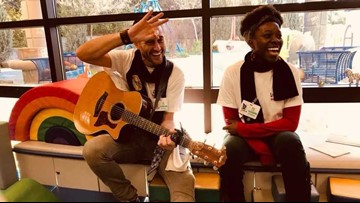 The Melodic Caring Project brings the joy of music to kids in need