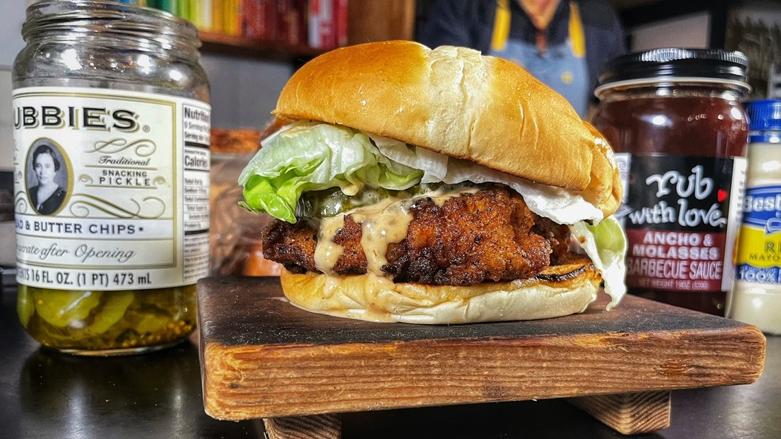 Skip the fast-food line and make this delish chicken sandwich at home - Douglas Demos