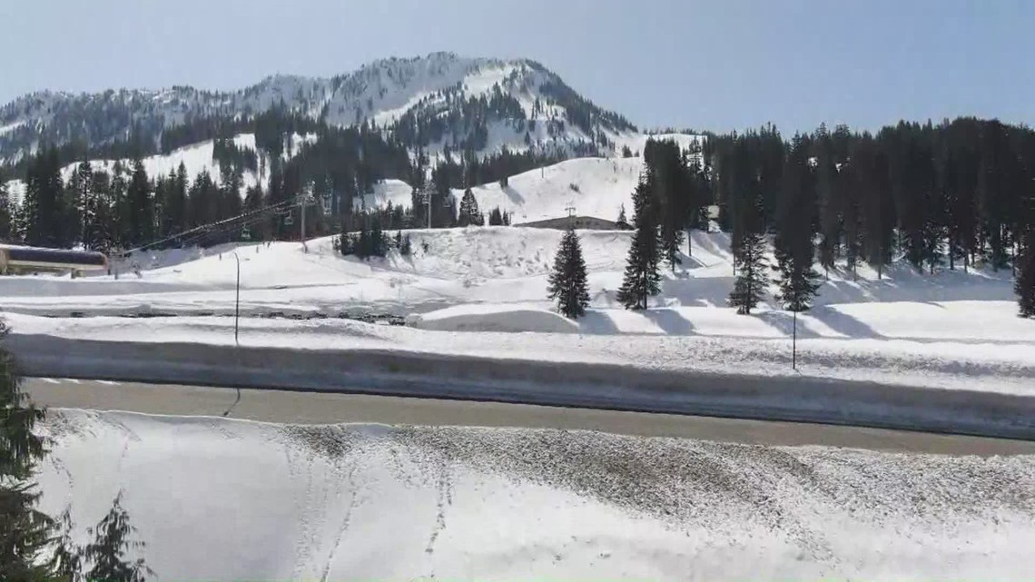 Washington snowpack deeper than normal as winter weather tapers off