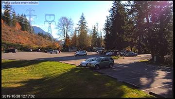 Washington State Parks tests live camera to check parking conditions
