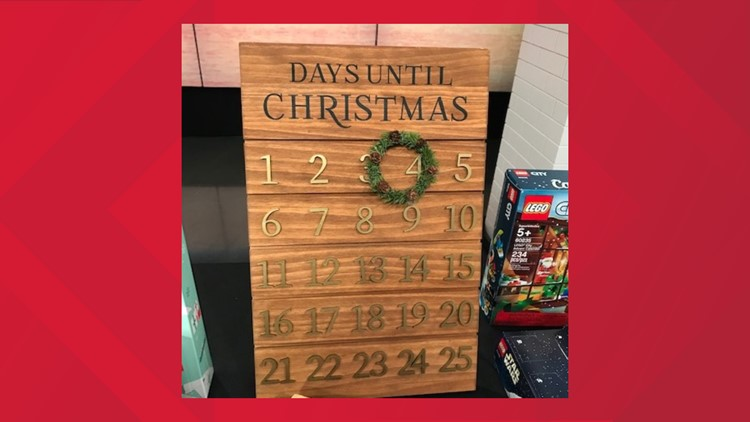 Threshold for Target's Wooden Advent Calendar