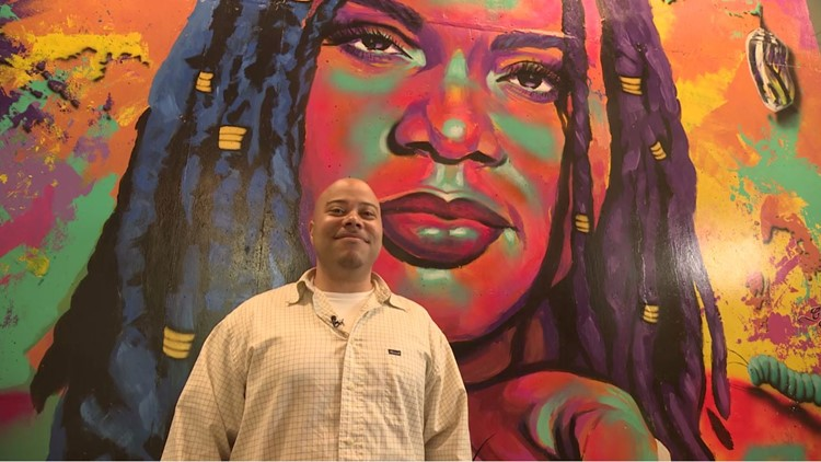 Seattle artist who transformed his life after prison inspires others through mural art
