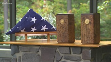Buffalo Soldiers unclaimed remains laid to rest at Tahoma National Cemetery