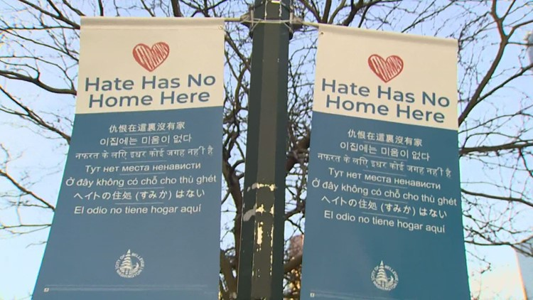 Bellevue launches 'Hate has no home here' campaign