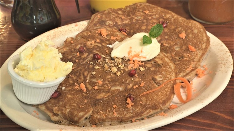 Where have these Carrot Cake pancakes been all my life?!