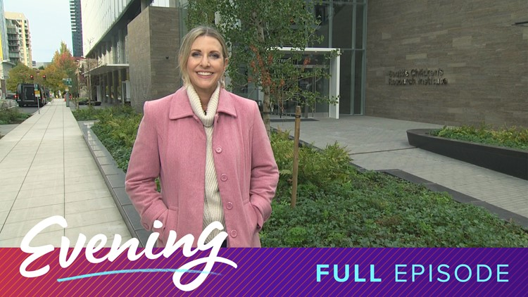 Tues 10/15, Seattle Children's Research Institute in Seattle, Full Episode, KING 5 Evening