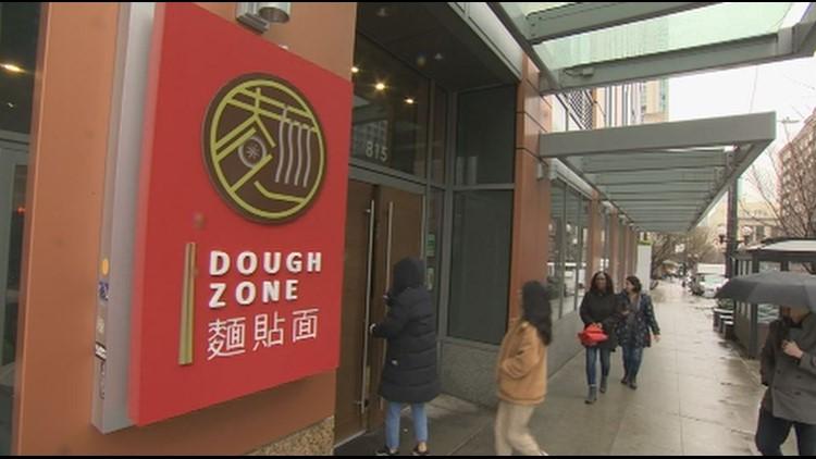 Dough Zone on Pine