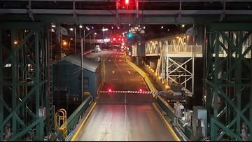 Edmonds-Kingston ferry back in service after train crash blocks terminal
