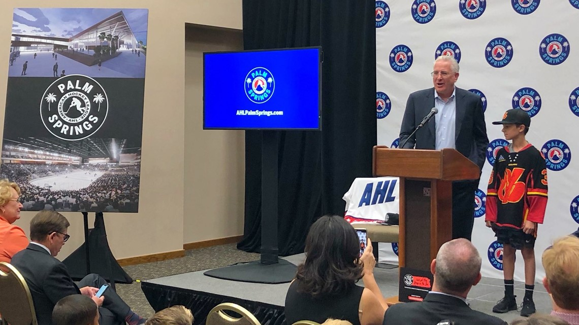 NHL Seattle awarded AHL expansion franchise in Palm Springs