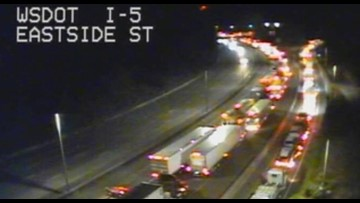 SB I-5 in Olympia reopens after fatality collision blocks