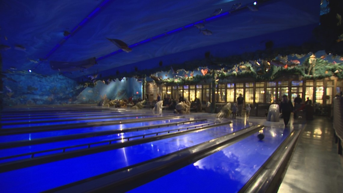 Underwater Bowling And Neon Drinks At Uncle Buck S