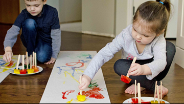 From Frozen Paint to Bubble Foam, the Busy Toddler has inventive projects to entertain and enlighten your kids
