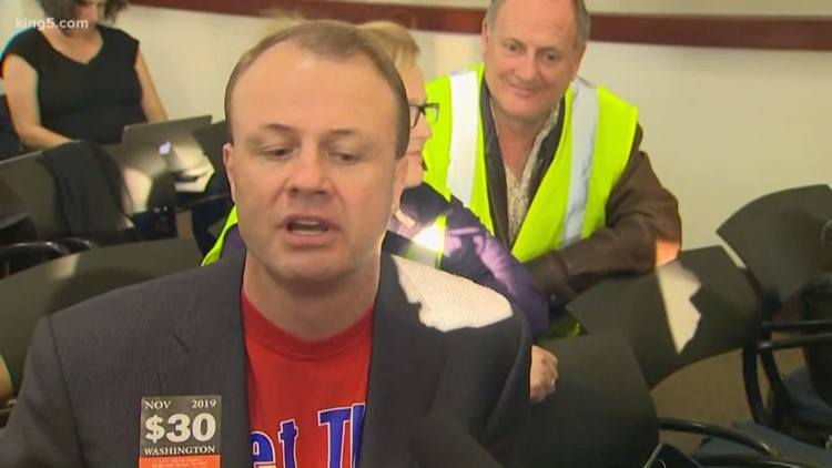 I-976 sponsor Tim Eyman announces run for Governor at Sound Transit board meeting