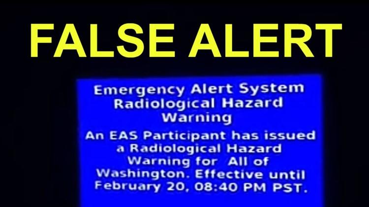 False alert