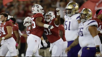 Scarlett's career day helps Stanford beat No. 15 Washington